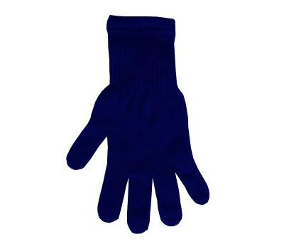 Перчатки однотонные